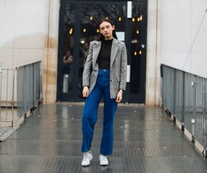 model off duty, pfw, and street style image
