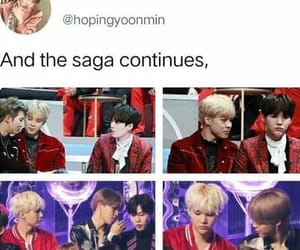 bts, yoongi, and jimin image