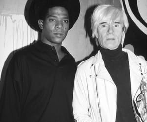 andywarhol and jeanmichelbasquiat image