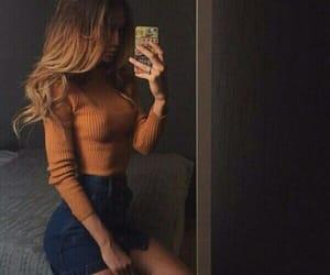 beauty, fashion, and skirt image