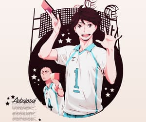 anime, sports, and haikyuu image