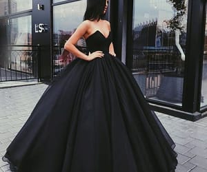 dress, girl, and fashion image