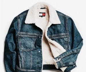 denim, fashion, and jacket image