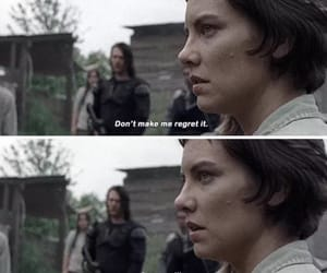 Maggie, quote, and twd image
