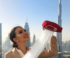 aviation, Dubai, and emirates image