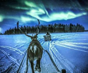 aurora boreal, suomi, and finland image