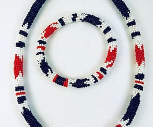 African, gift, and red black white image