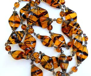 Czech glass, etsy, and vintage necklace image