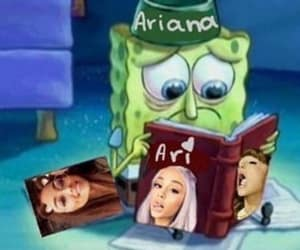 meme, reaction, and ariana grande image