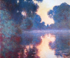 art, impressionism, and monet image