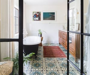 architecture, bathtub, and building image