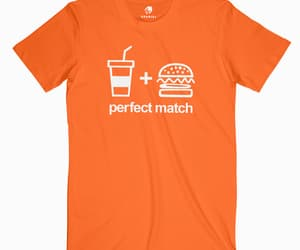 burger, drink, and perfect match image