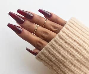 cosmetics, nail, and nail art image