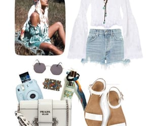 festival, hippie, and outfit image