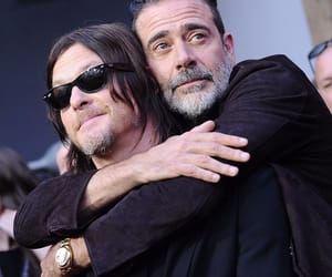 twd, jeffrey dean morgan, and norman reedus image