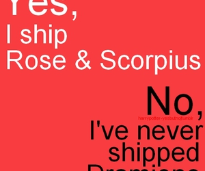 harry potter, rose, and scorpius image