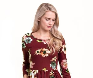 blonde, dress, and lds image