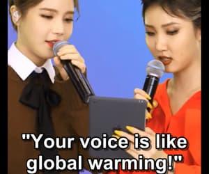 global warming, hwasa, and leader maknae image
