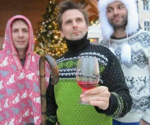 Dominic Howard, muse, and chris wolstenholme image