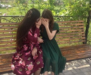 friend, girl, and dagestan image