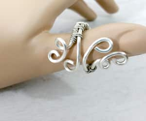 etsy, thumb ring, and statement ring image