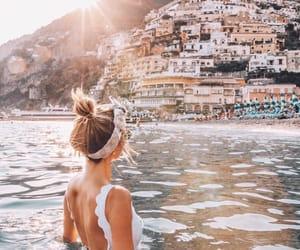 bikini, city, and Cityscapes image