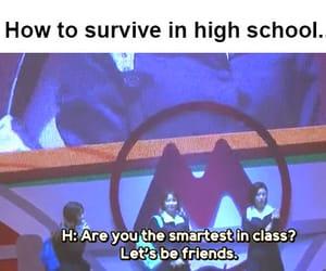 high school, hwasa, and smartest kid image