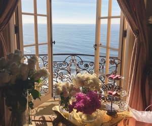 aesthetic, balcony, and soft image
