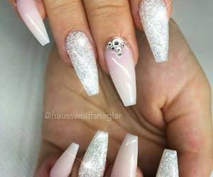 nails, crystal, and diamond image