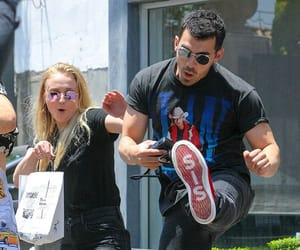 Joe Jonas, game of thrones, and sophie turner image