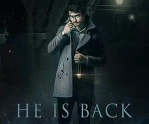 harry potter, april1, and he is back image