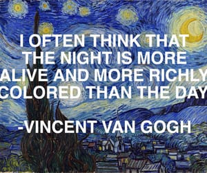 quotes, art, and night image