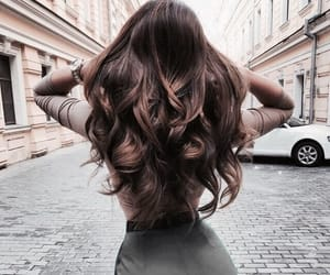 hair, fashion, and brunette image