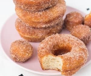 donuts, sweets, and food image