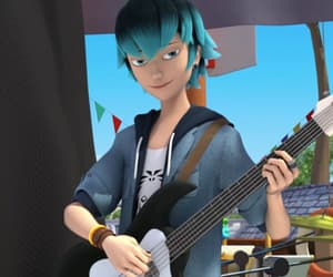 Adrien, luka, and marinette image