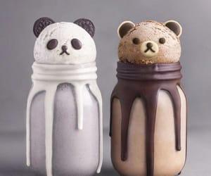 bear, chocolate, and food image