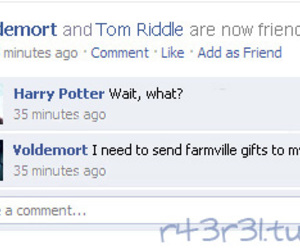 facebook, funny, and harry potter image