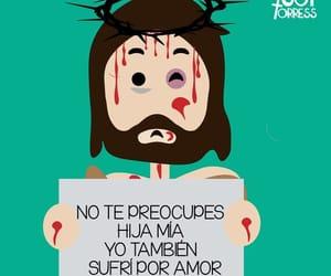 god, amor, and jesús image