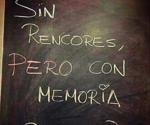 frases español, memoria, and rencores image
