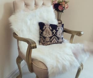 armchair, beauty, and comfy image