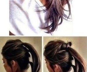 hair, hairstyles, and how to image