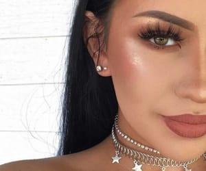 beauty, eyeshadow, and jewellery image
