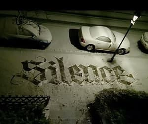 silence and snow image
