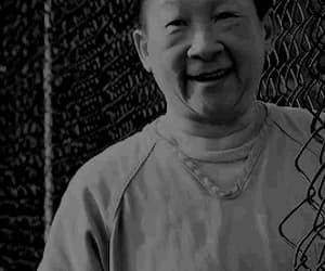 black and white, gif, and orange is the new black image