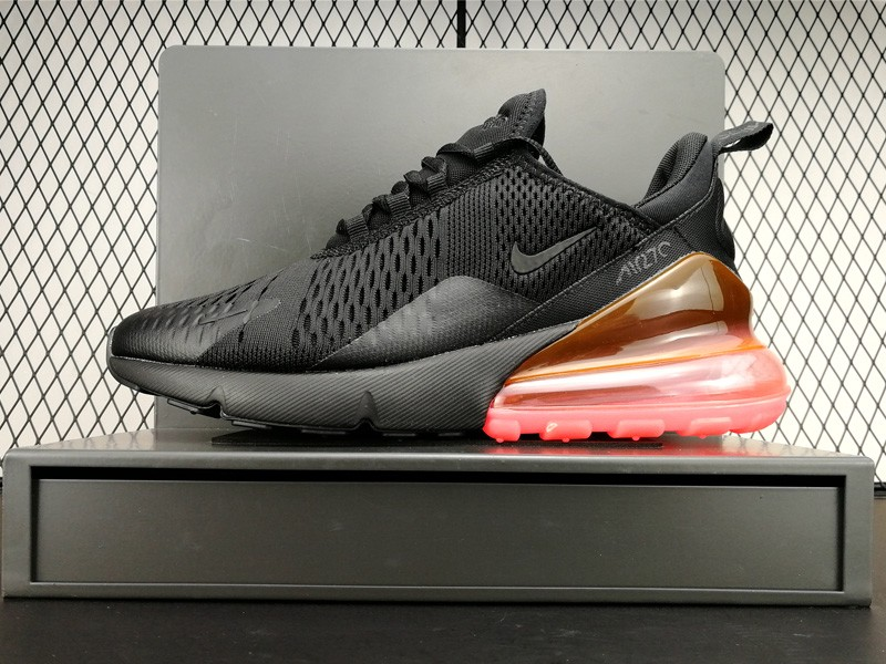 Total 2018 270 Womens Black Size Orange Nike Max Mens Air D29YEbeWHI