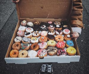 delicious, desserts, and donuts image
