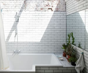 white, bath, and bathroom image
