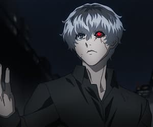 gif, anime, and tokyo ghoul re image