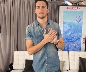 american idol, singer, and garrett jacobs image
