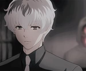 anime, gif, and tokyo ghoul re image
